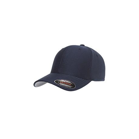 6572 Flexfit 6572 Adult Cool & Dry Tricot Cap NAVY