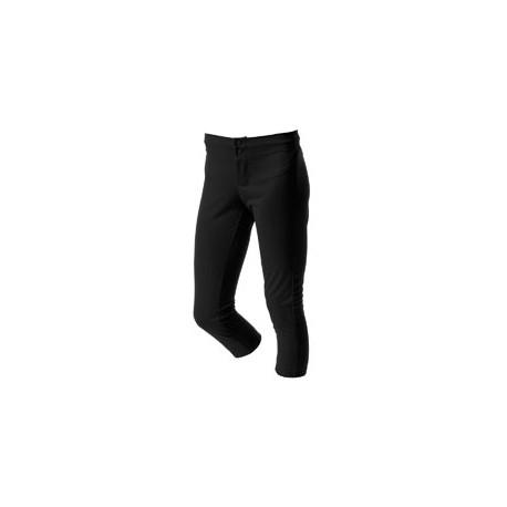 NG6166 A4 NG6166 Girl's Softball Pants BLACK