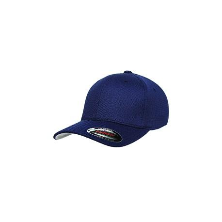 6577CD Flexfit 6577CD Adult Cool & Dry Pique Mesh Cap NAVY