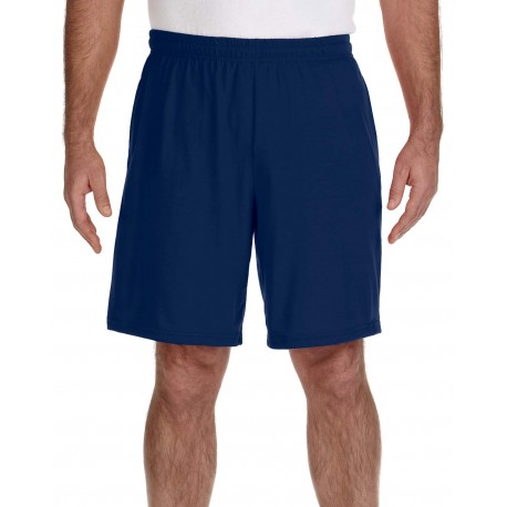 G44S30 Gildan G44S30 Adult Performance Adult 5.5 oz. Shorts with Pocket NAVY