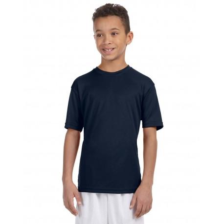 M320Y Harriton M320Y Youth 4.2 oz. Athletic Sport T-Shirt NAVY