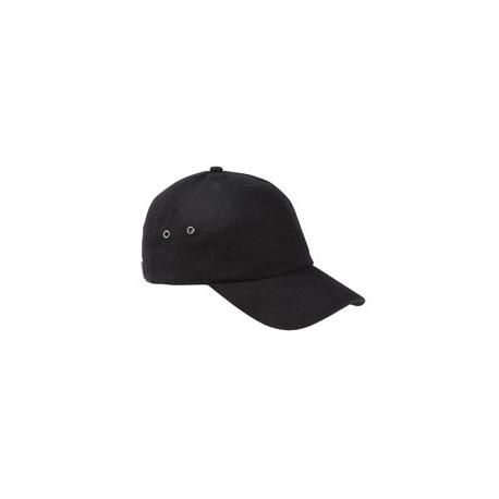 BA529 Big Accessories BA529 Washed Baseball Cap BLACK