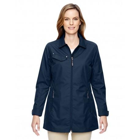 78218 North End 78218 Ladies' Excursion Ambassador Lightweight Jacket with Fold Down Collar NAVY 007