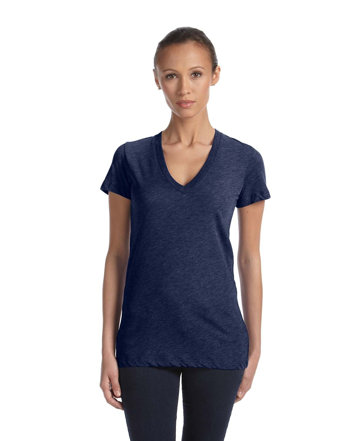 8435 Bella + Canvas NAVY TRIBLEND