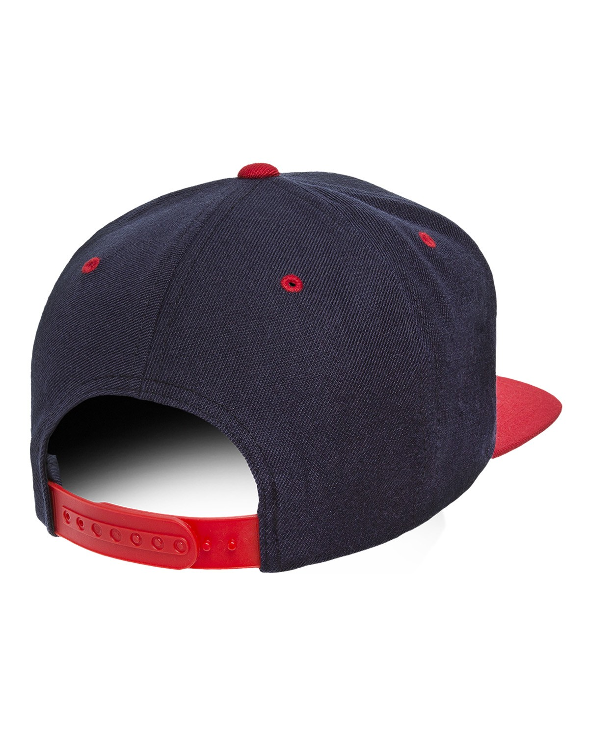 6089 Yupoong NAVY/RED