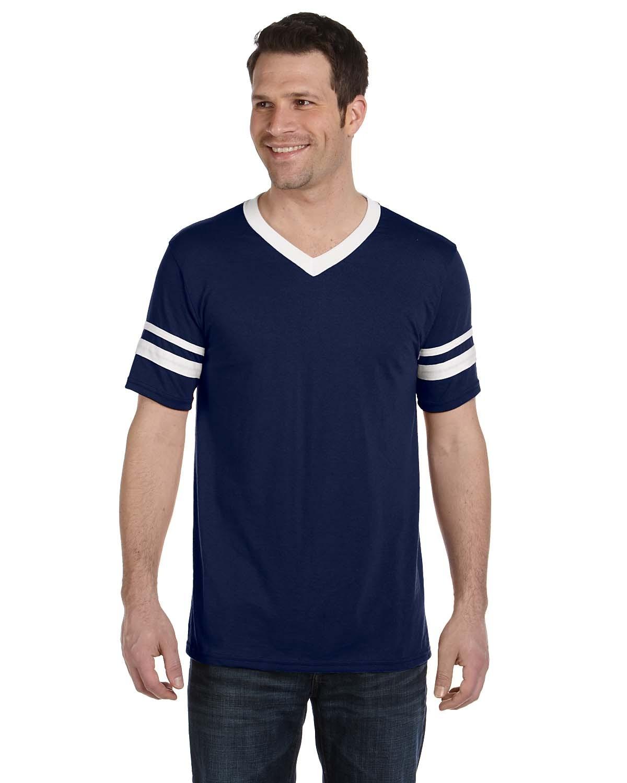 360 Augusta Sportswear NAVY/WHITE