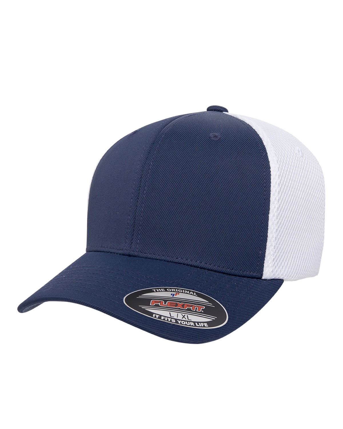 6533 Flexfit NAVY/WHITE