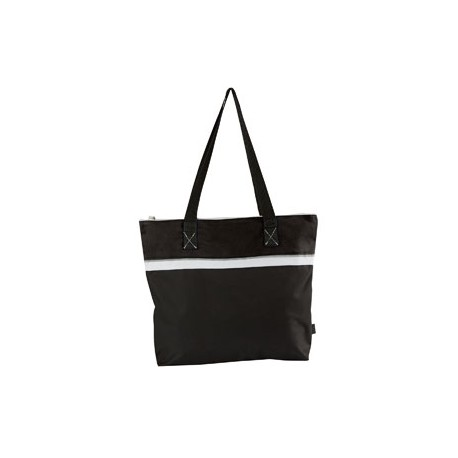 GL1610 Gemline GL1610 Muse Convention Tote BLACK