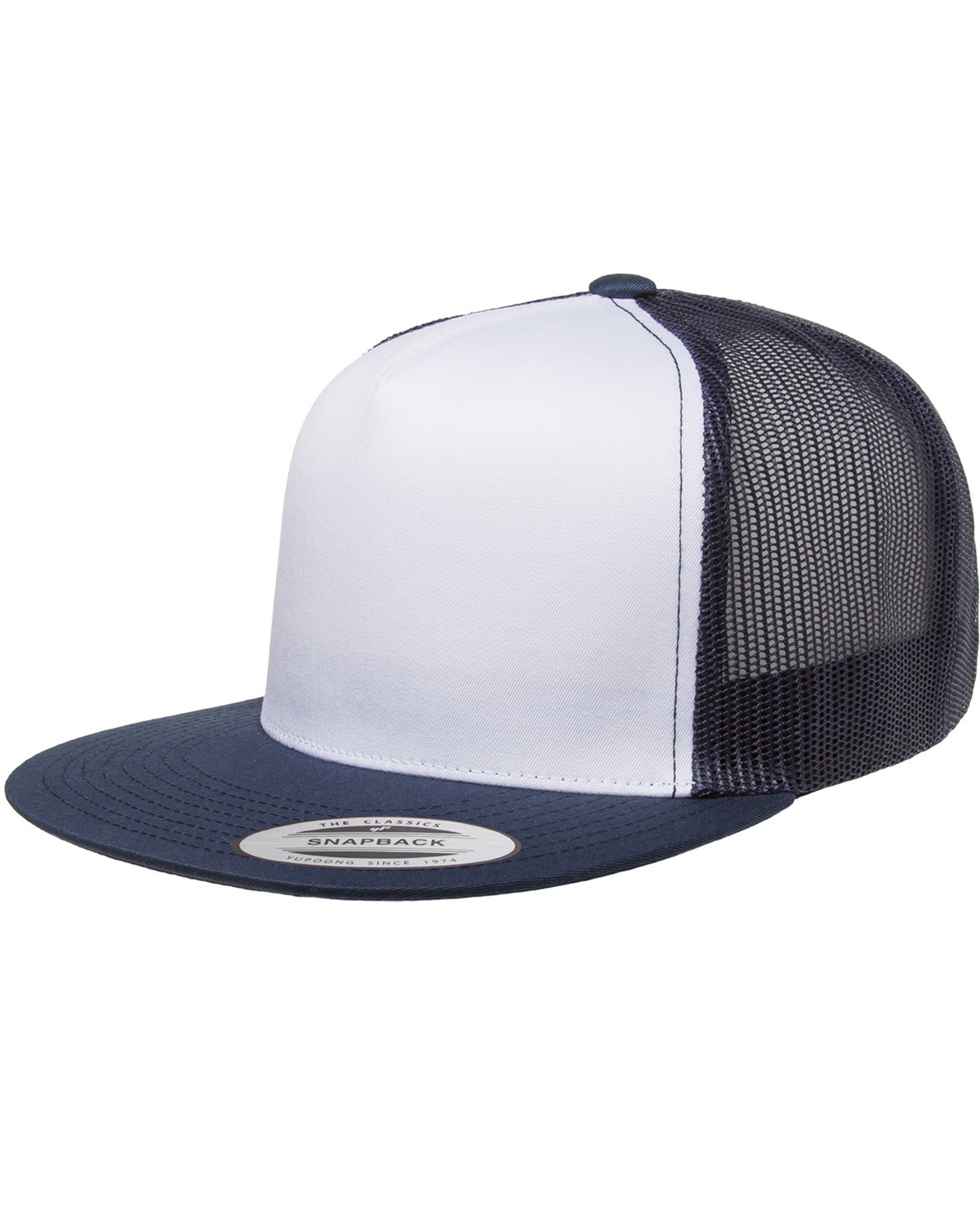 6006W Yupoong NAVY/WHT/NAVY