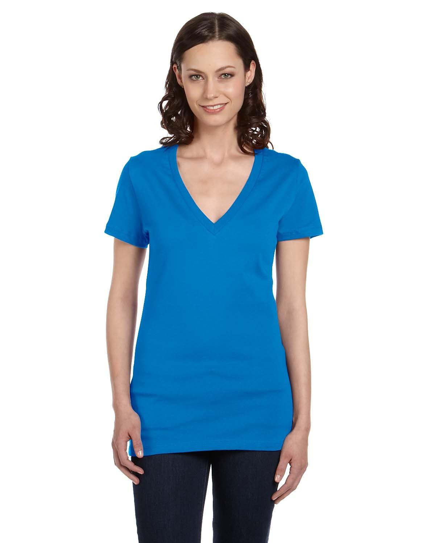 B6035 Bella + Canvas NEON BLUE