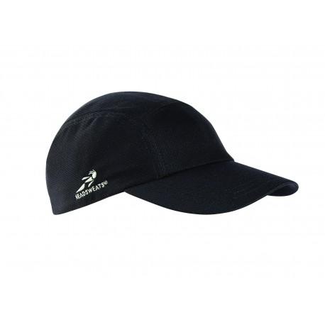 HDSW01 Headsweats HDSW01 Adult Race Hat BLACK