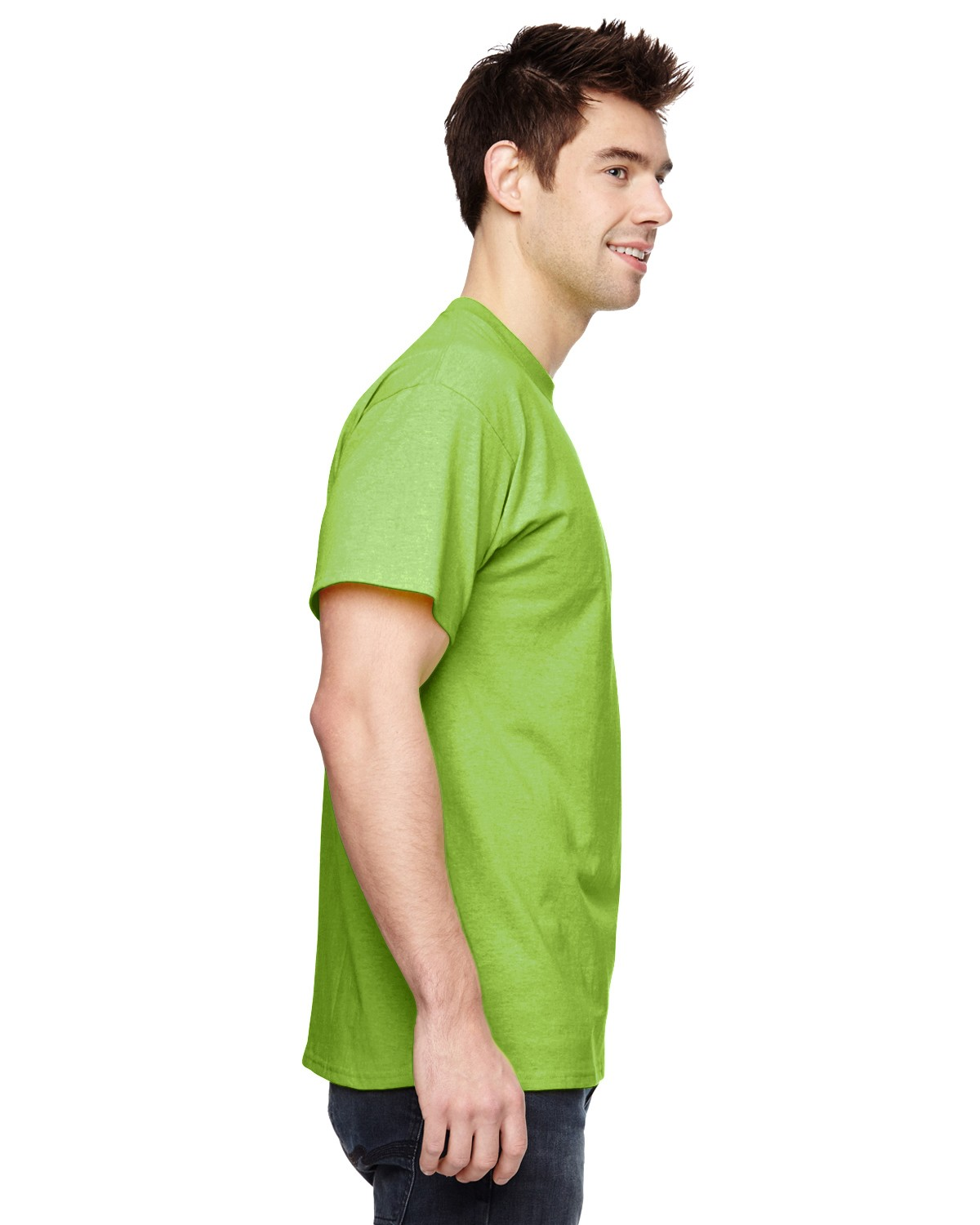 3931 Fruit of the Loom NEON GREEN