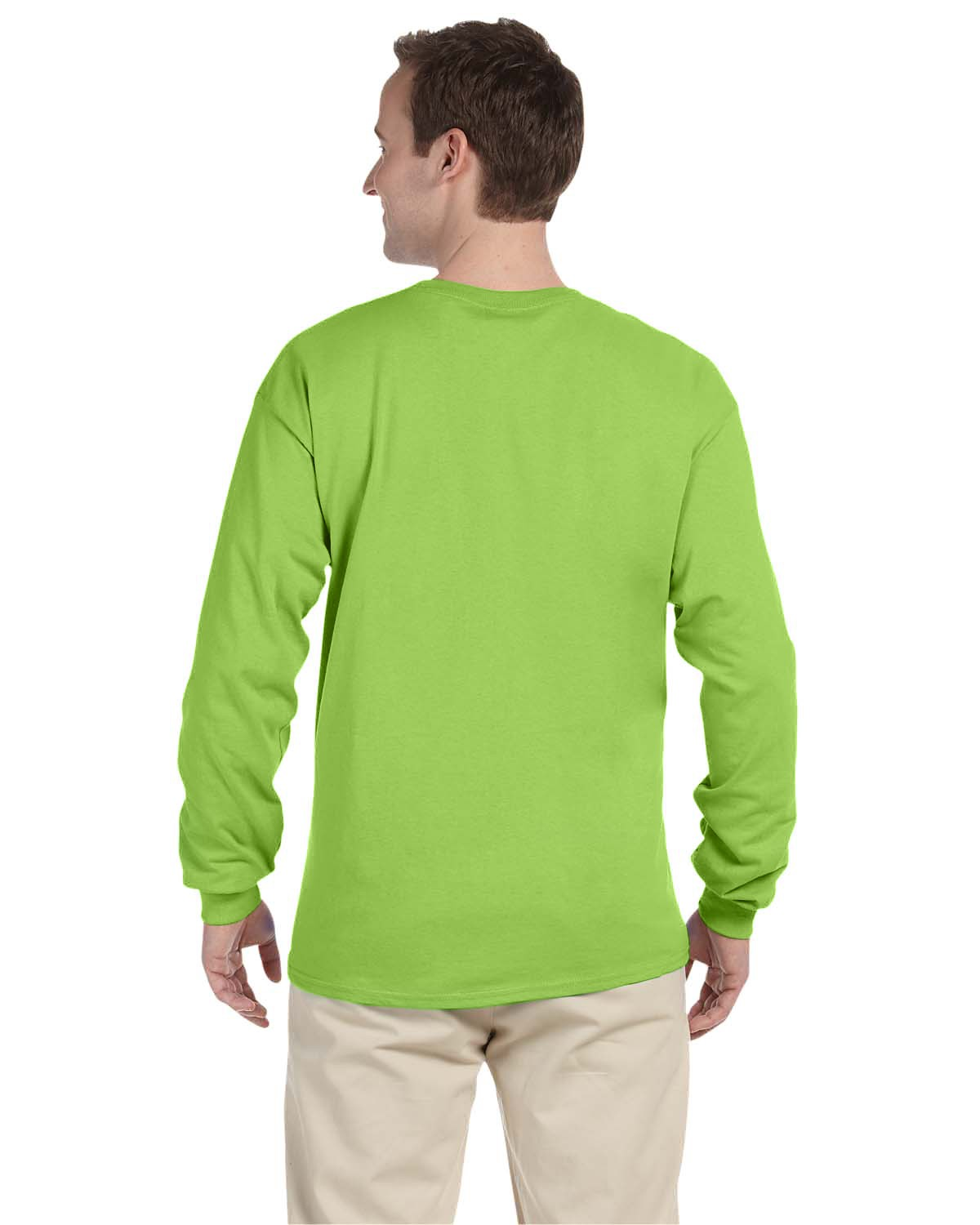 4930 Fruit of the Loom NEON GREEN