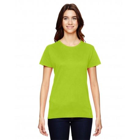 880 Anvil 880 Ladies' Lightweight T-Shirt NEON ORANGE