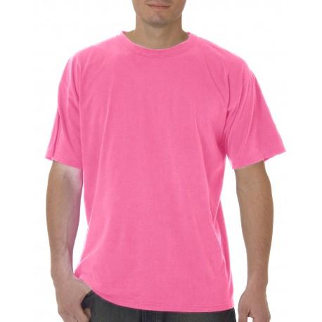 C5500 Comfort Colors C5500 5.4 oz. Ringspun Garment-Dyed T-Shirt NEON PINK
