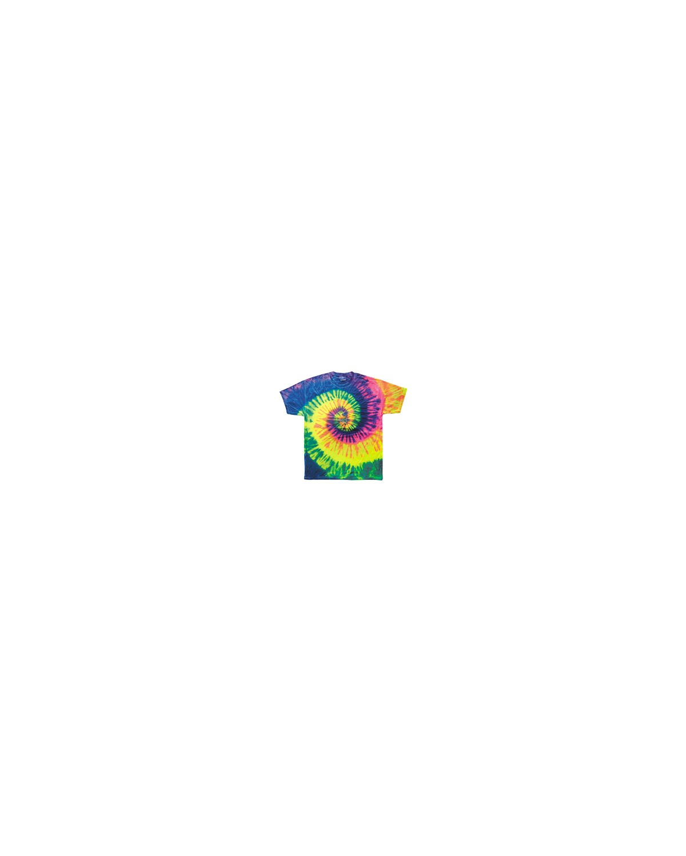 CD100Y Tie-Dye NEON RAINBOW