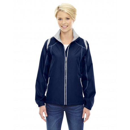 78076 North End 78076 Ladies' Endurance Lightweight Colorblock Jacket NIGHT 846