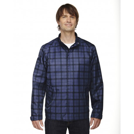 88671 North End 88671 Men's Locale Lightweight City Plaid Jacket NIGHT 846