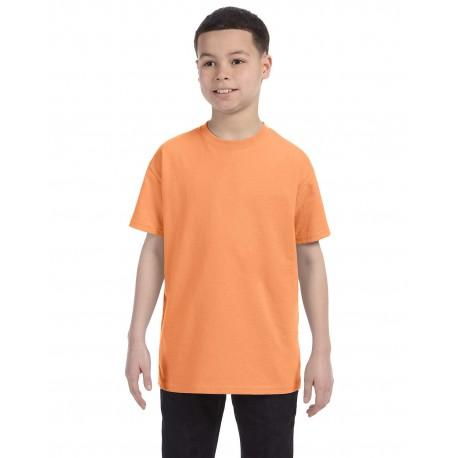 G500B Gildan G500B Youth 5.3 oz. T-Shirt OLD GOLD