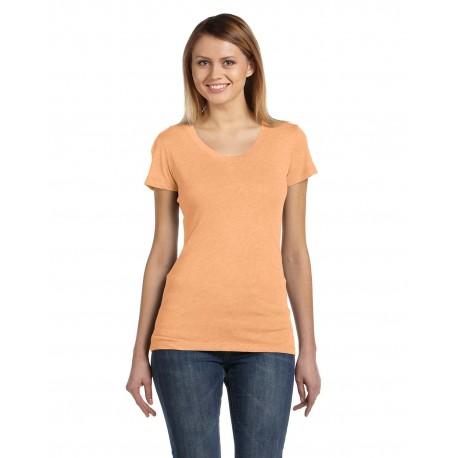 B8413 Bella + Canvas B8413 Ladies' Triblend Short-Sleeve T-Shirt ORANGE TRIBLEND