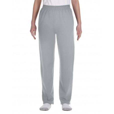 974Y Jerzees 974Y Youth 8 oz. NuBlend Open-Bottom Fleece Sweatpants OXFORD