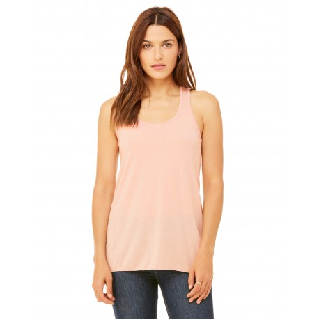 B8800 Bella + Canvas B8800 Ladies' Flowy Racerback Tank PEACH