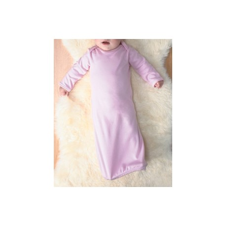 4406 Rabbit Skins 4406 Infant Baby Rib Layette PINK