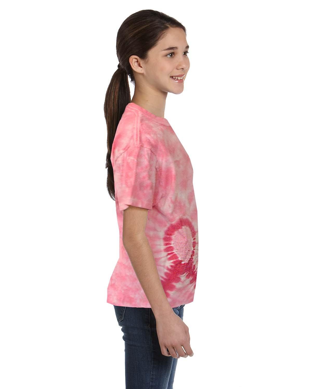 CD1150Y Tie-Dye PINK RIBBON
