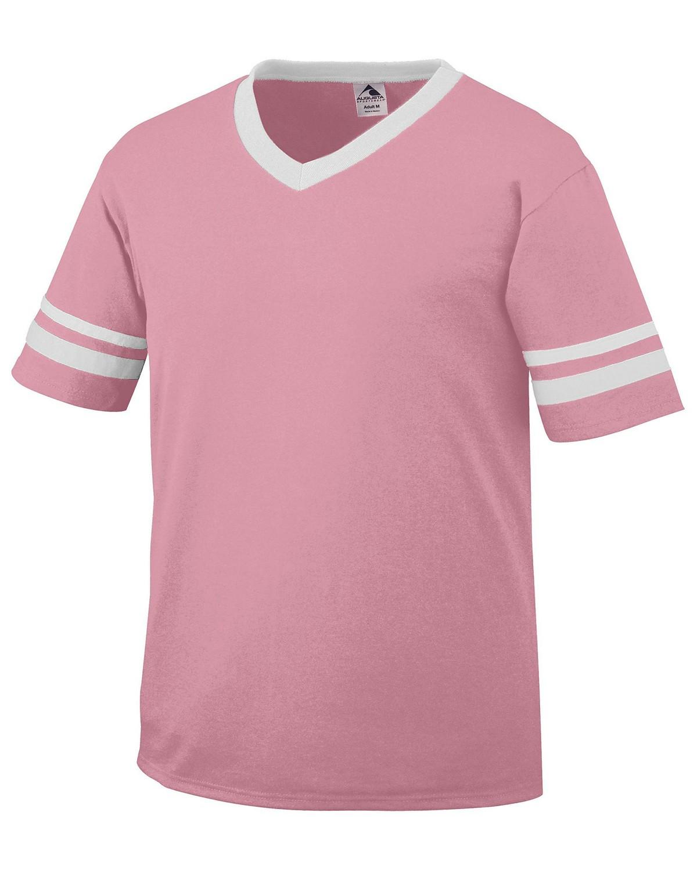 360 Augusta Sportswear PINK/WHITE
