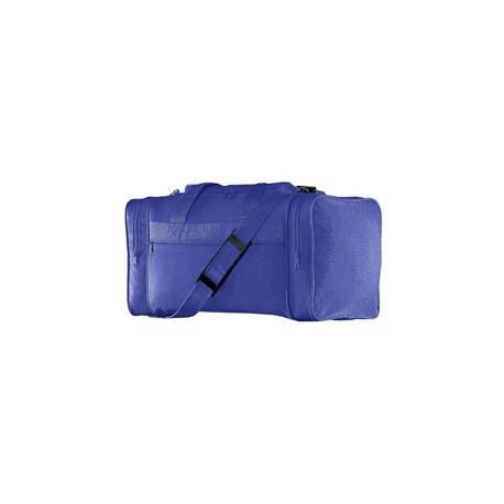 417 Augusta Sportswear 417 600D Poly Small Gear Bag PURPLE