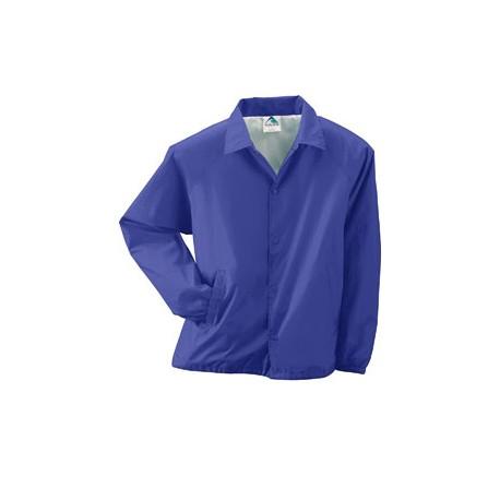 3100 Augusta Sportswear 3100 Unisex Nylon Coach's Jacket PURPLE