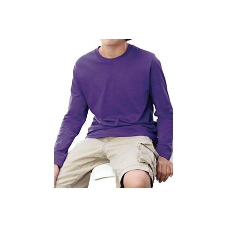 6201 LAT 6201 Youth Long-Sleeve T-Shirt PURPLE