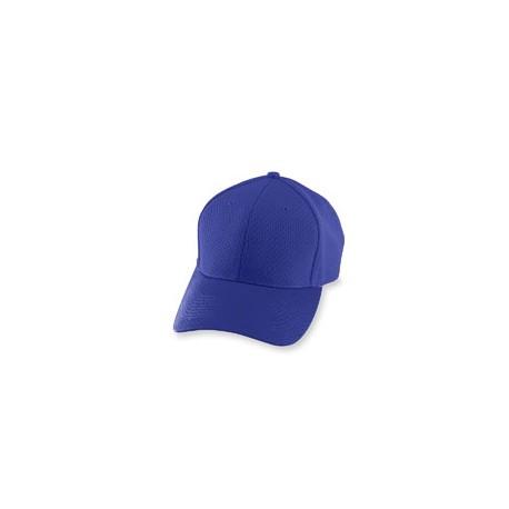 6236 Augusta Sportswear 6236 Youth Athletic Mesh Cap PURPLE