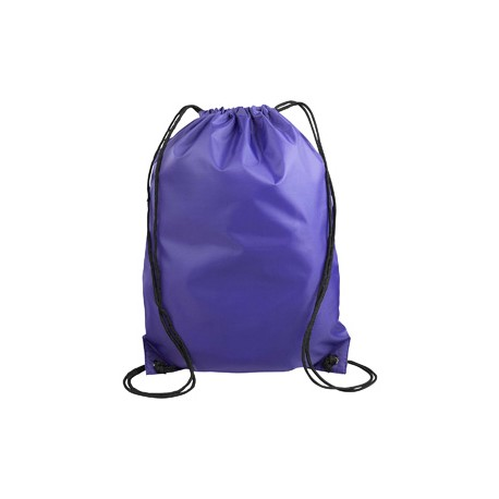 8886 Liberty Bags 8886 Value Drawstring Backpack PURPLE