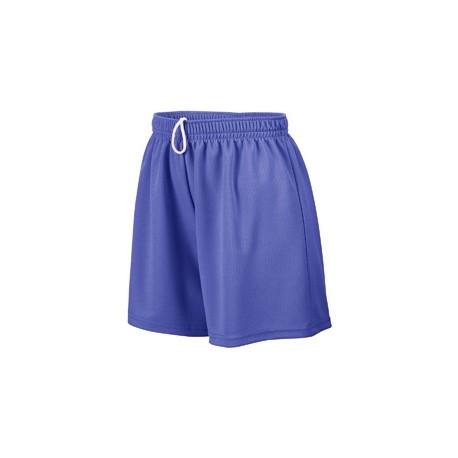 AG960 Augusta Sportswear AG960 Ladies' Wicking Mesh Short PURPLE