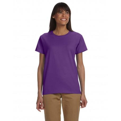 G200L Gildan G200L Ladies' Ultra Cotton 6 oz. T-Shirt PURPLE