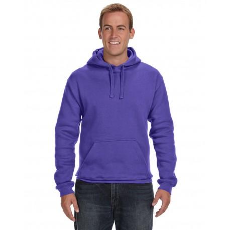 JA8824 J America JA8824 Adult Premium Fleece Pullover Hood PURPLE