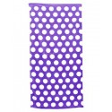 C3060 Carmel Towel Company PURPLE POLKA DOT