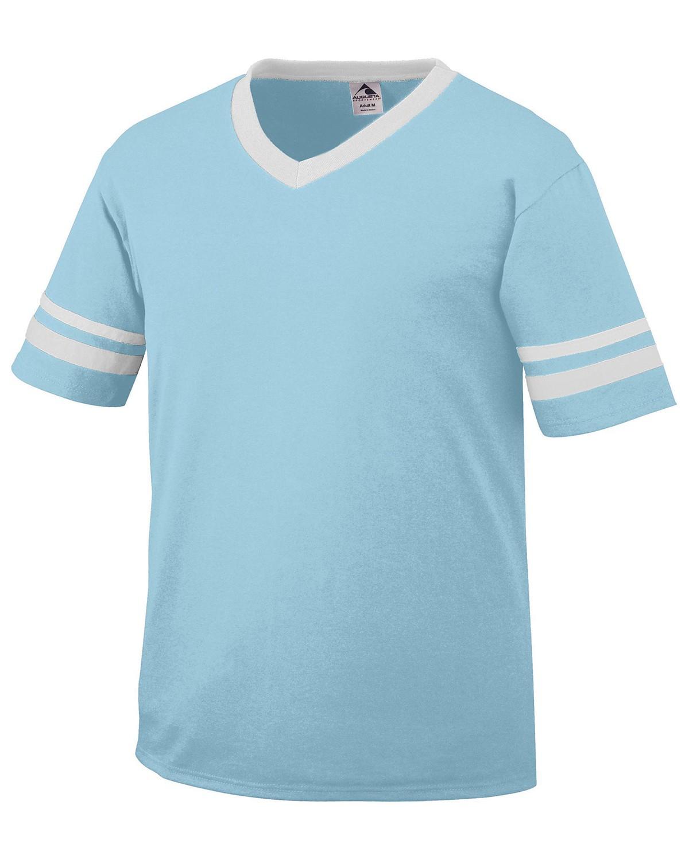 360 Augusta Sportswear AQUA/WHITE