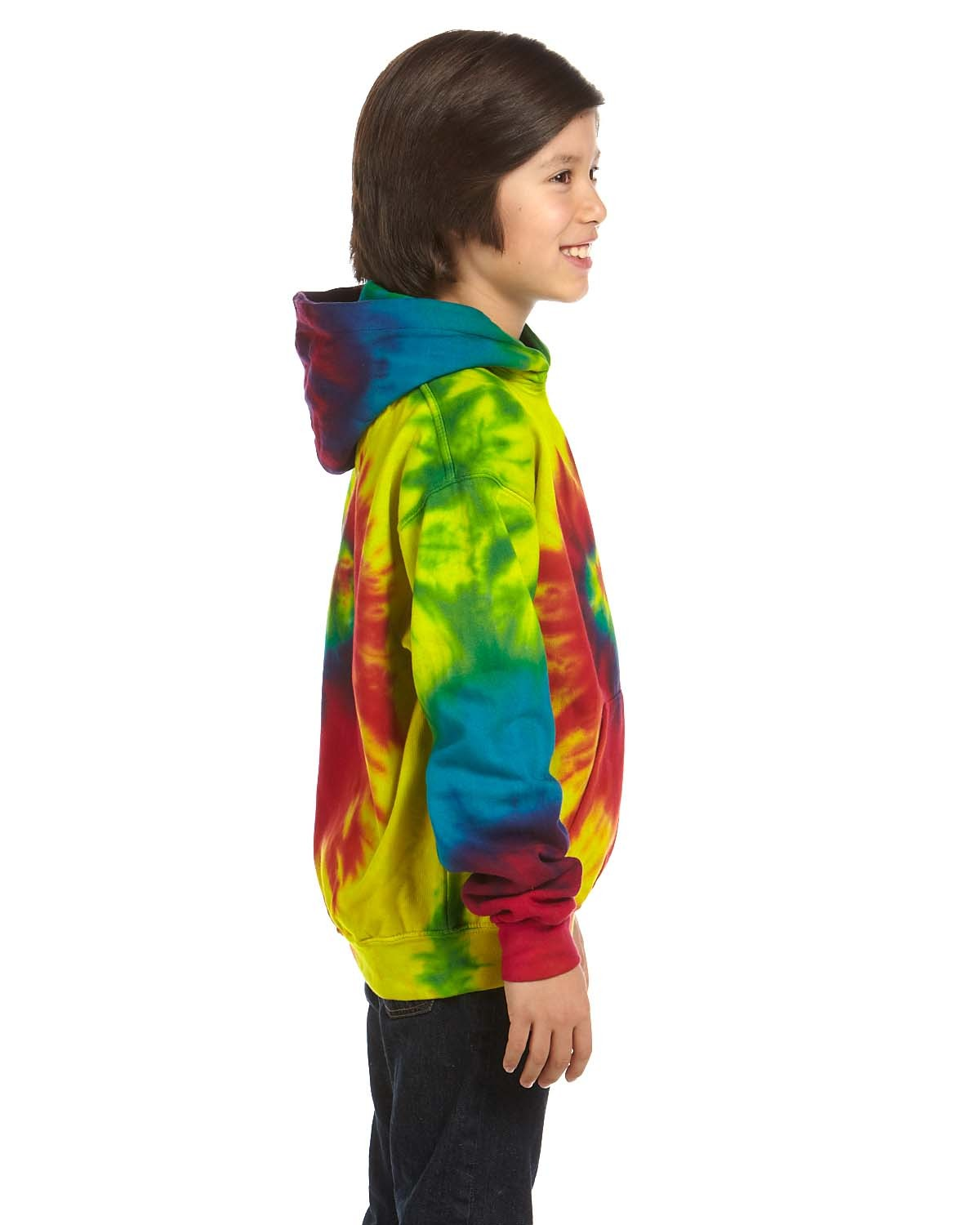 CD877Y Tie-Dye REACTIVE RAINBOW