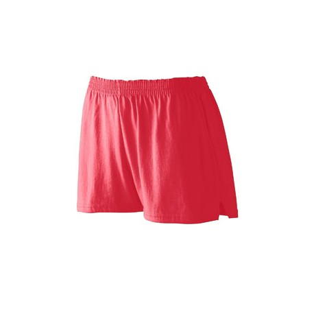 987 Augusta Sportswear 987 Ladies' Trim Fit Jersery Short RED