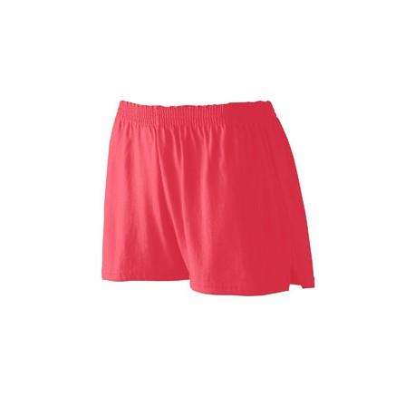 988 Augusta Sportswear 988 Girls' Trim Fit Jersey Short RED