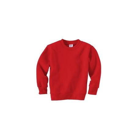 3317 Rabbit Skins 3317 Toddler Fleece Sweatshirt RED