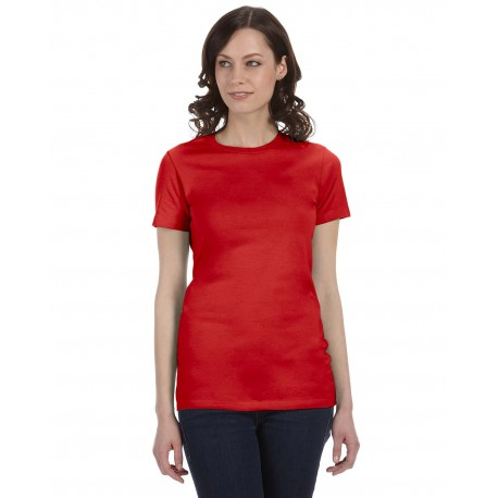 6004 Bella + Canvas 6004 Ladies' The Favorite T-Shirt RED