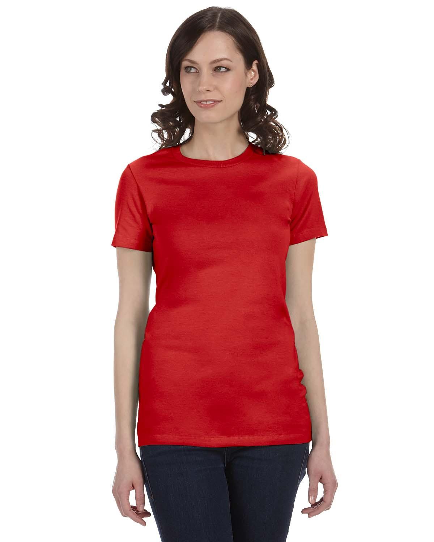 6004 Bella + Canvas RED