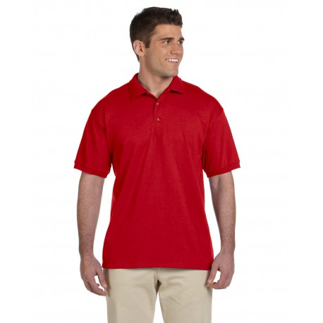 G280 Gildan G280 Adult Ultra Cotton Adult 6 oz. Jersey Polo RED