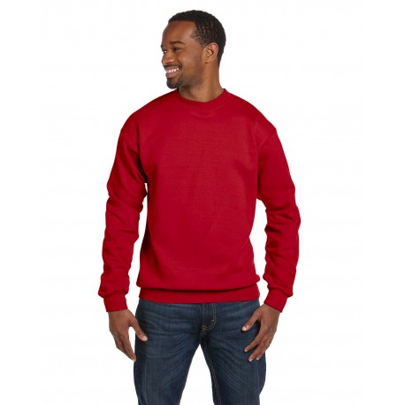 G920 Gildan G920 Adult Premium Cotton Adult 9 oz. Ringspun Crew RED