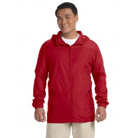 M765 Harriton M765 Men's Essential Rainwear RED