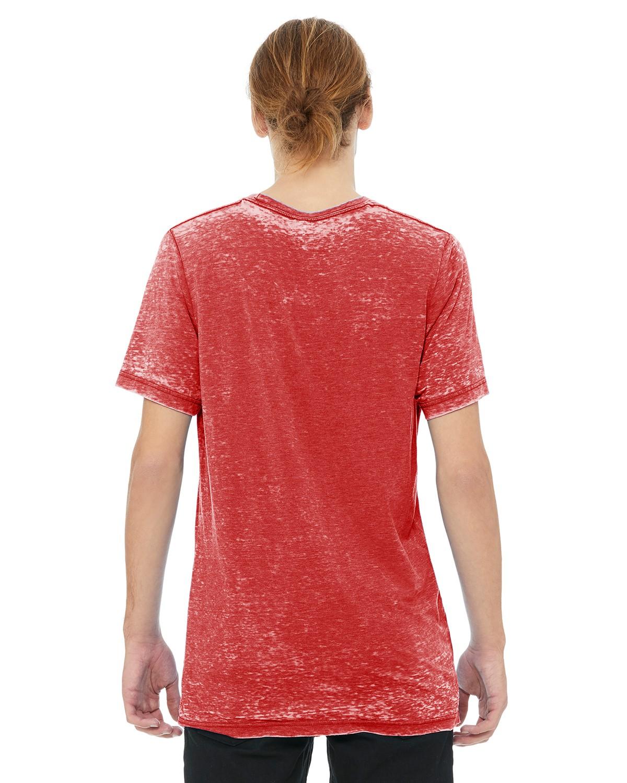 3650 Bella + Canvas RED ACID WASH