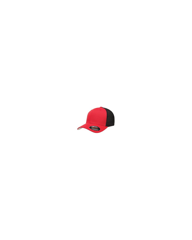 6511 Flexfit RED/BLACK